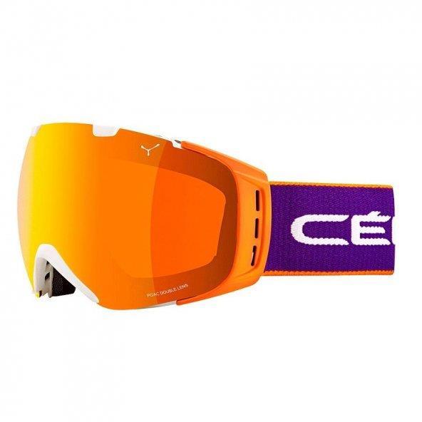 Cebe Origins Kayak Snowboard Gözlük L Pro Purple Oranj Flash Cbg5