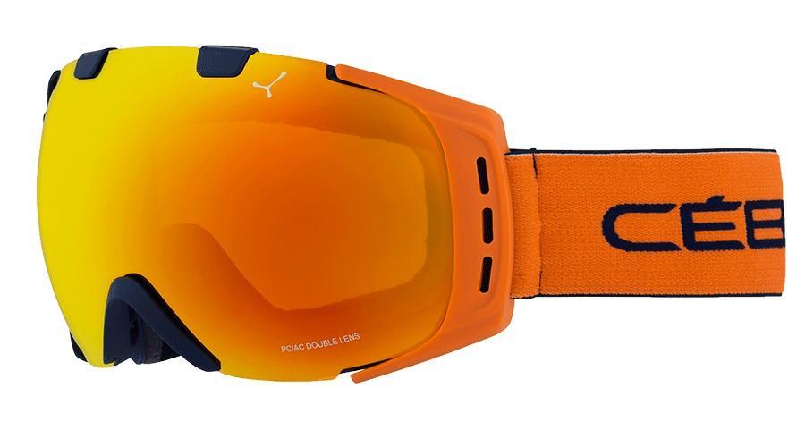 Cebe Orıgıns Kayak Snowboard Gözlük M Mavi & Oranj Oranj Fla Cbg89
