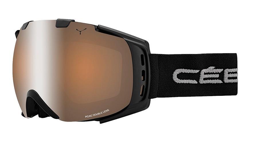Cebe Orıgıns Kayak Snowboard Gözlük M Siyah Brown Flash Mırr Cbg37