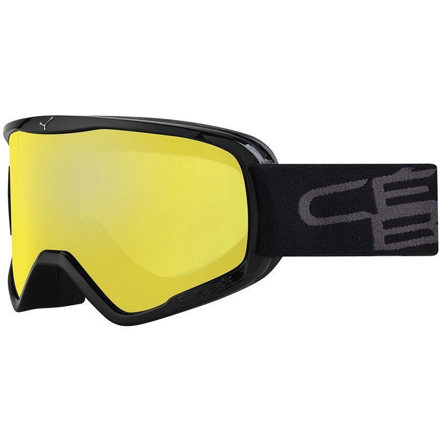 Cebe Razor Kayak Snowboard Gözlük L Siyah Yellow Cbg61