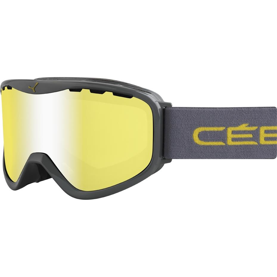 Cebe Rıdge Kayak Snowboard Gözlük Otg Grey Yellow Flash Mırr Cbg71