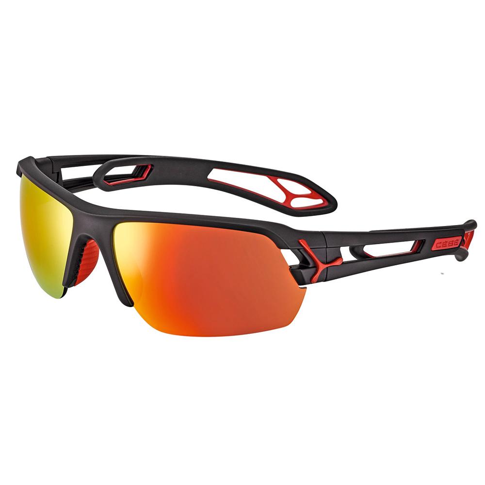 Cebe S Track Güneş Gözlük M Mat Siyah Kırmızı 1500 Grey Pc A Cbstm15