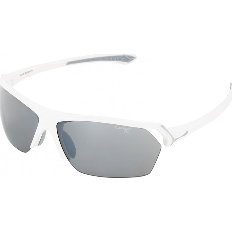 Cebe Skiss Güneş Gözlük Parlak Beyaz 1500 Grey Cbskiss5