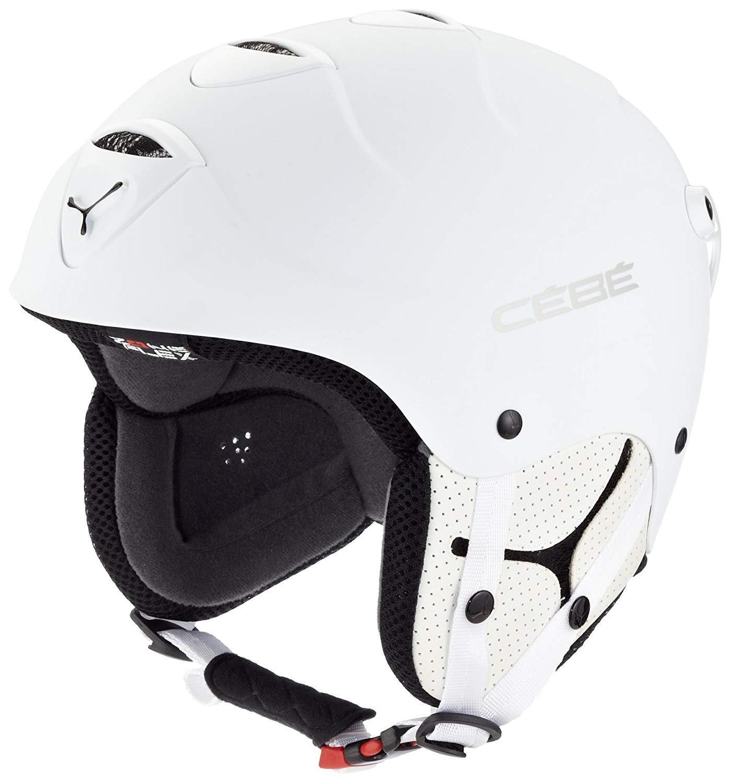 Cebe Spyner Flex Kayak Snowboard Kask 54Cm Mat Beyaz CB116041154