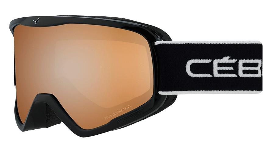 Cebe Strıker Kayak Snowboard Gözlük L Full Siyah Oranj Flash Cbg103
