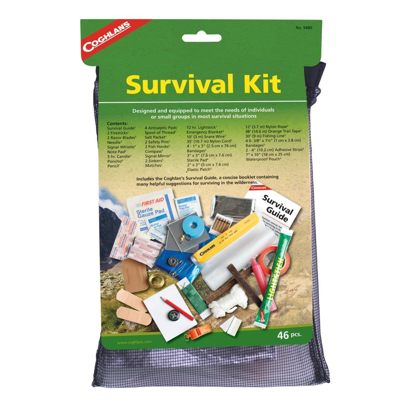 Coghlans Survival Acil Durum Seti C-9480
