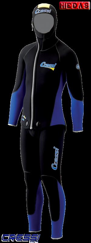 Cressi Sub Elbise Medas Kulup Erkek 5Mm Xxl Mrlke486506