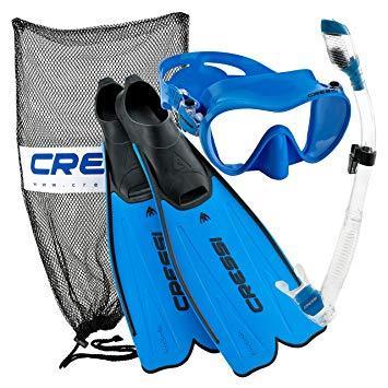 Cressi Sub Set Rondinella Bag Aquamarine 45/46 Mrca189245
