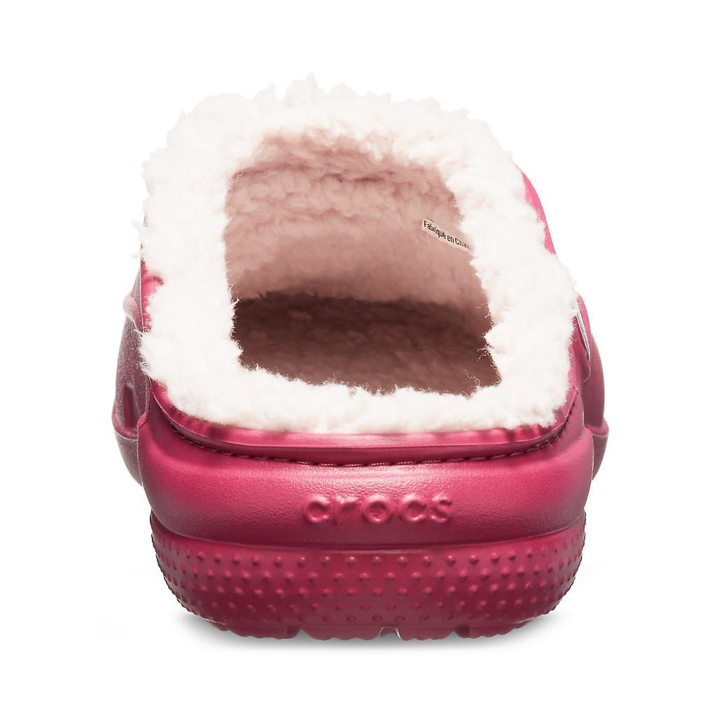 Crocs Freesail PlushLined Clog Pomegranate/Rose Dust CR0519 6OR