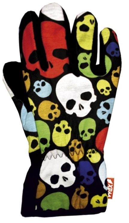 Glove Skulls Medium Wdg060/M