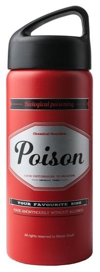 Laken Çelik 18/8 Onuff Klasik Termos Şişe 0.5L Poison Lkonta501