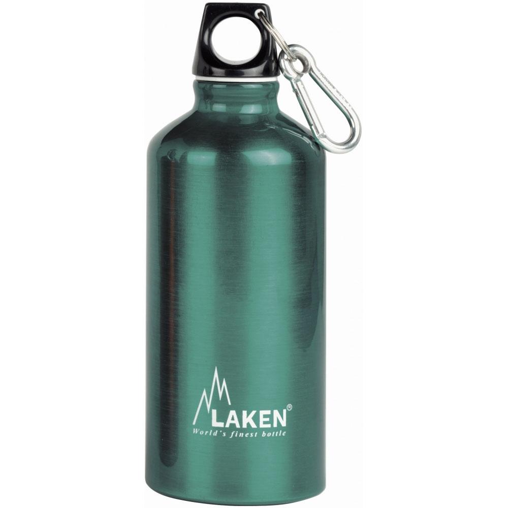Laken İspanya Üretimi Alüminyum Futura Şişe 0,60L Yeşil Lk71-V