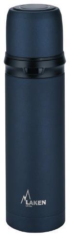 Laken İspanya Üretimi Çelik Termos 0,75L Siyah Lk180075N