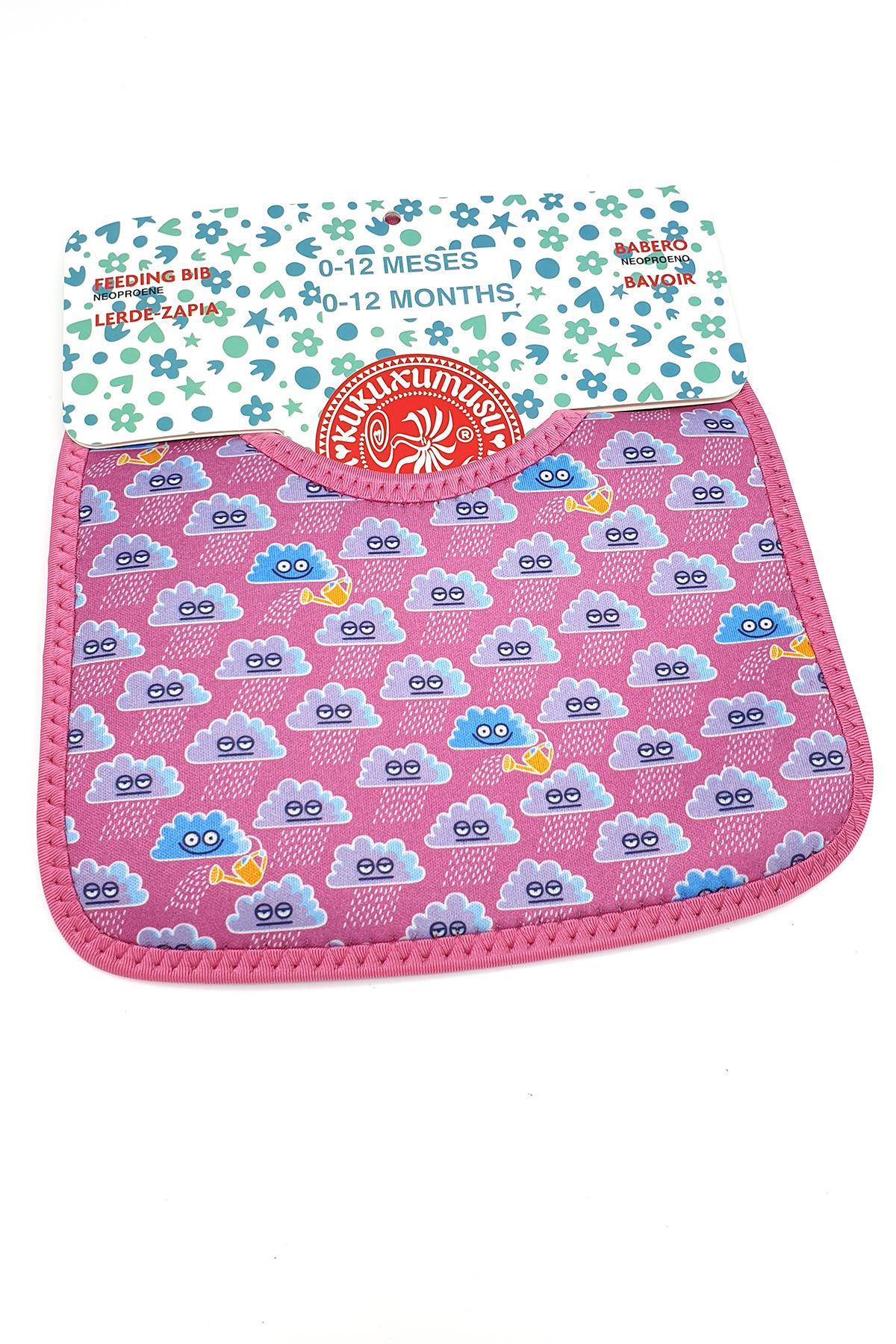 Laken İspanya Üretimi Junior 0 12 Ay Neopren Önlük Nubes Rosa Lkkbn-Cp