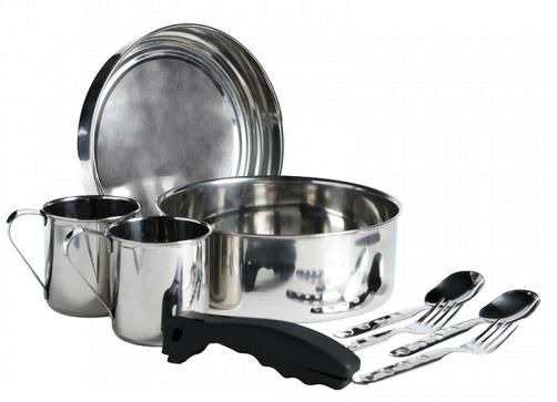 Laken Paslanmaz Çelik Pişirme Seti İki Kişilik. 20 Cm Lk8820Fn