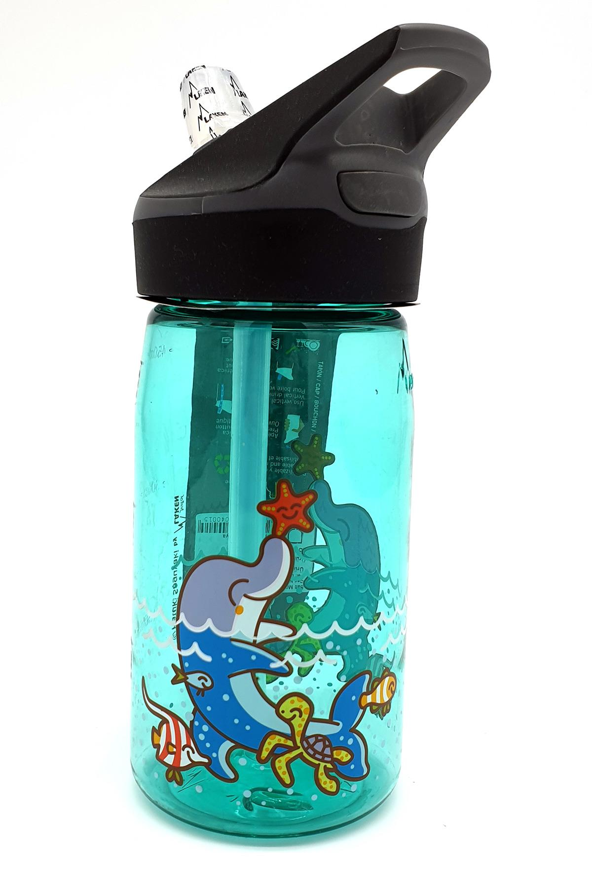 Laken Tritan Şişe 0,45L Jannu - Blue Dolphin