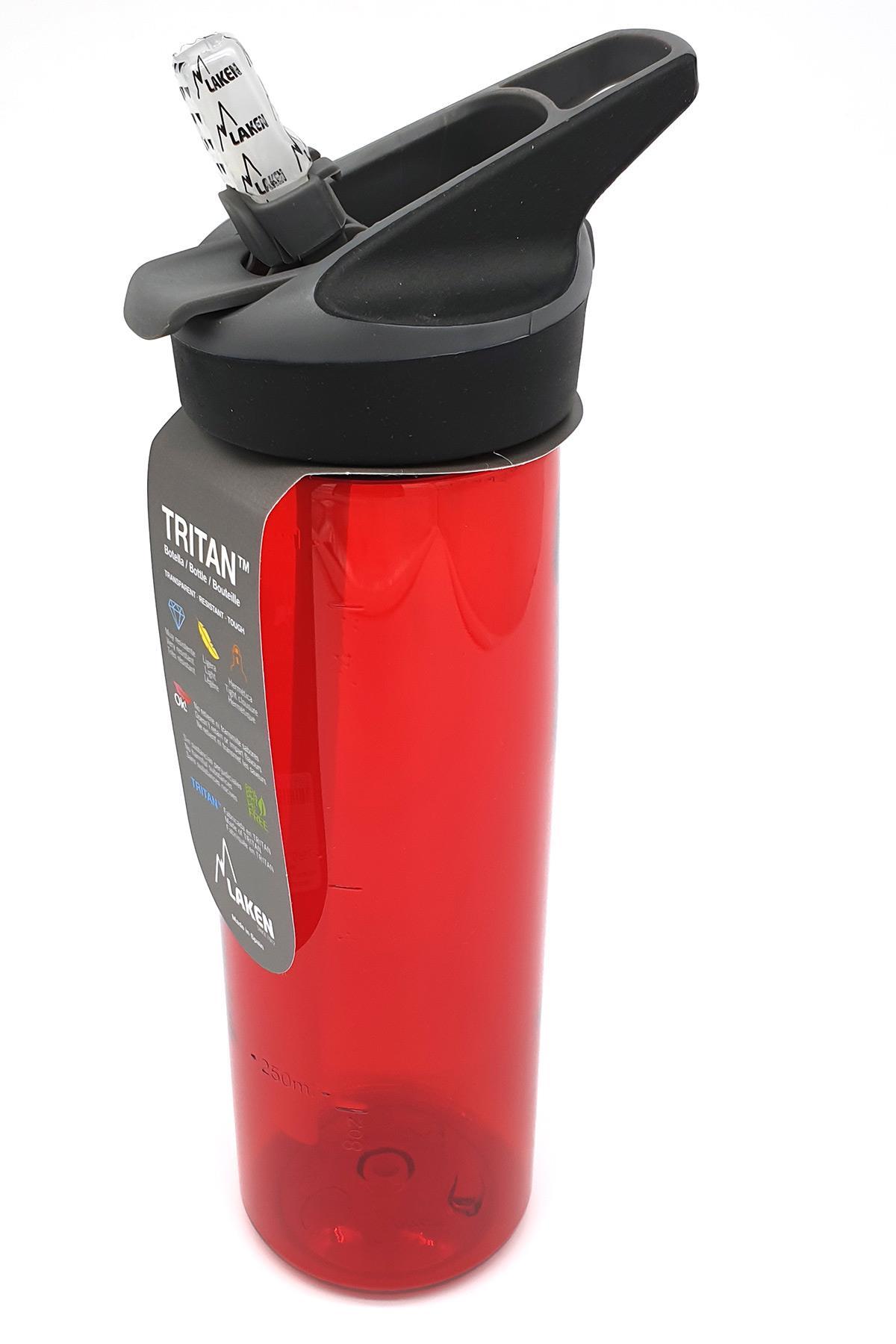 Laken  Tritan Jannu Sise 0.75L - Kırmızı