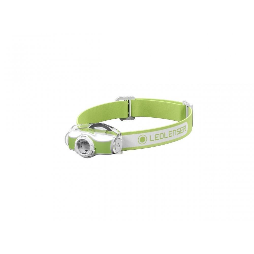 LedLenser MH3 Green Kafa Feneri Led501593