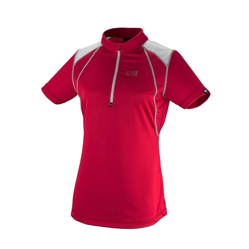Millet Red Needles Zip Kadın T Shirt Miv6001