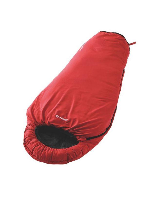 Outwell Convertible Junior Kırmızı Çocuk Uyku Tulumu OUT230069