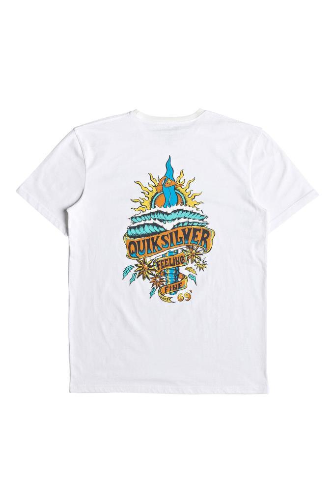 Quiksilver Tatteredss Erkek Tees T-Shirt Qkeqyzt05255