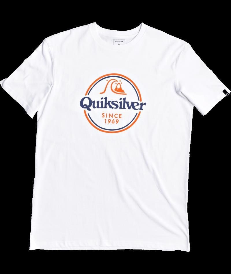 Quiksilver Wordsremaınss M Tees WBB0 Erkek Tişört EQYZT05753-WBB0
