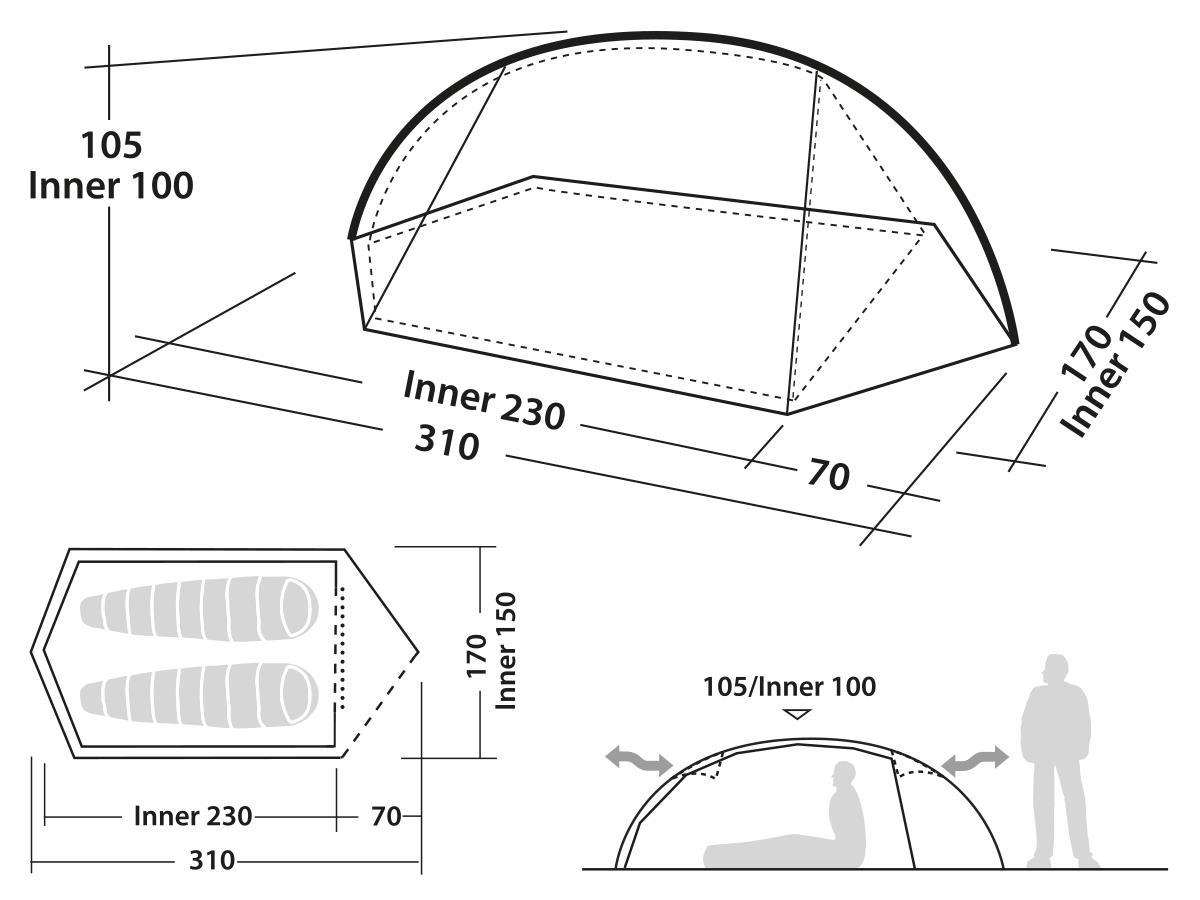 Robens Edge Çadır Rbn130148