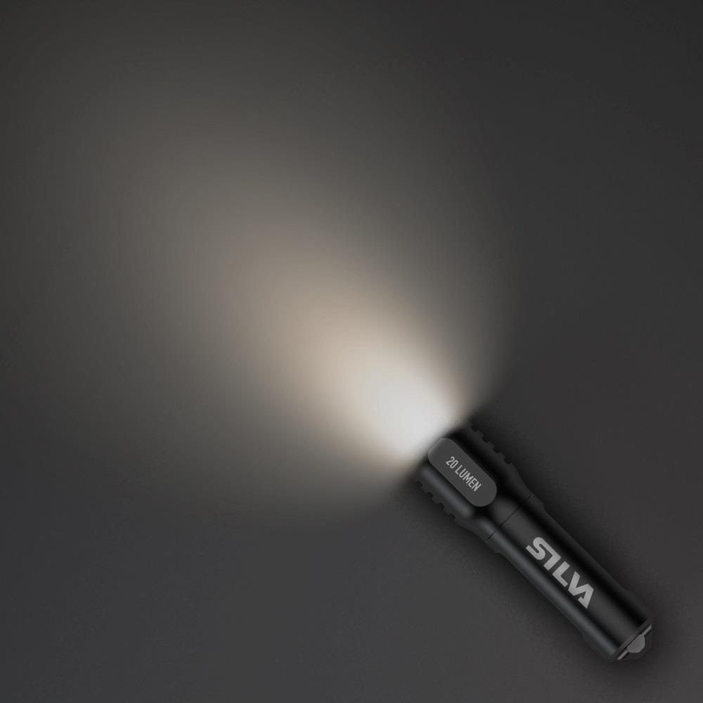 Silva Topo X Mini El Feneri Ve Turuncu Işık 20lm 15m