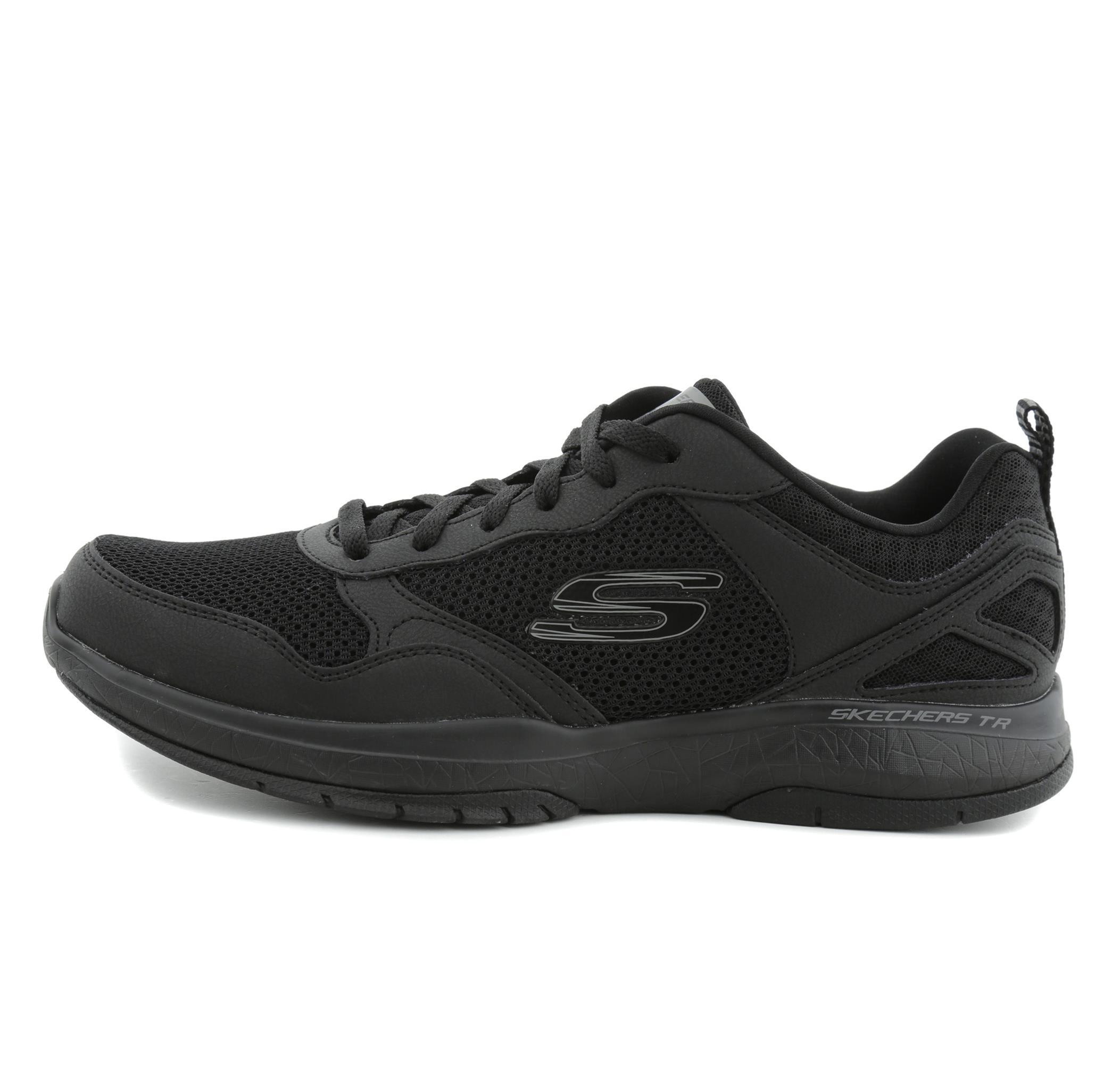 Skechers Burst Tr - Halpert Erkek Ayakkabı Siyah SKC52606 BBK