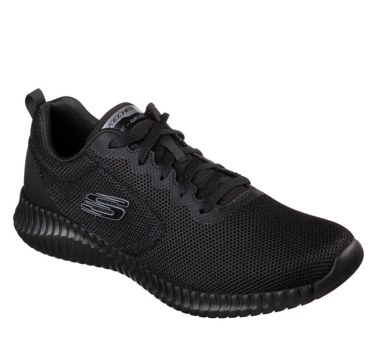 Skechers Elite Flex - Knockto Erkek Ayakkabı Siyah SKC52866 BBK