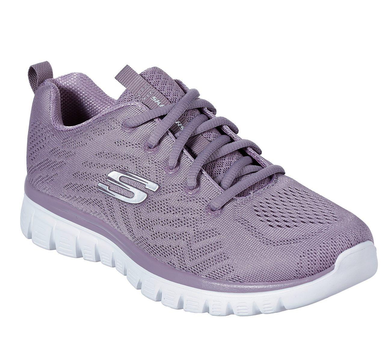 Skechers Graceful-Get Connnected Lavanta  Bayan Ayakkabısı