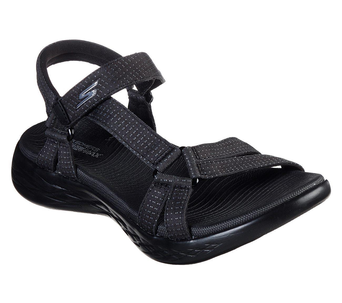 Skechers On The Go 600 - Brilliancy Kadın Sandalet SKC15316 BBK