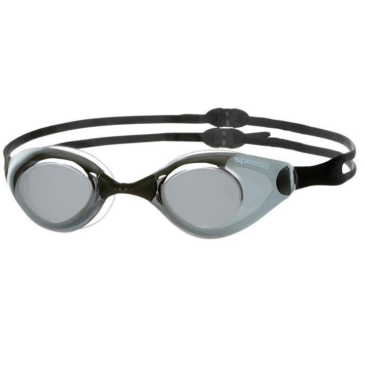 Speedo Aquapulse Mirror Ayna Yüzme Gözlüğü Siyah Gri SP8092997649