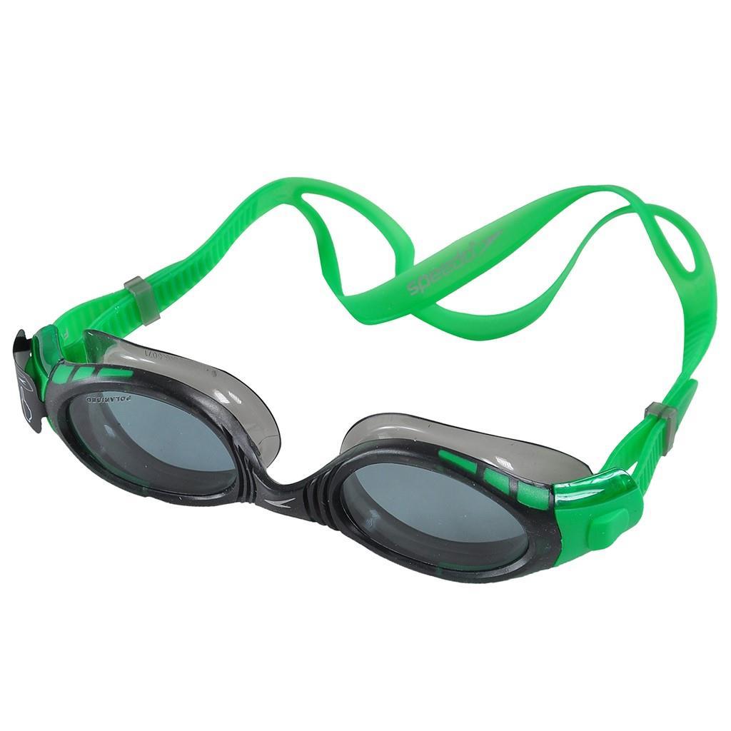 Speedo Futura Biofuse Pold Yeşil/Gri Yüzücü Gözlüğü SP8088348833