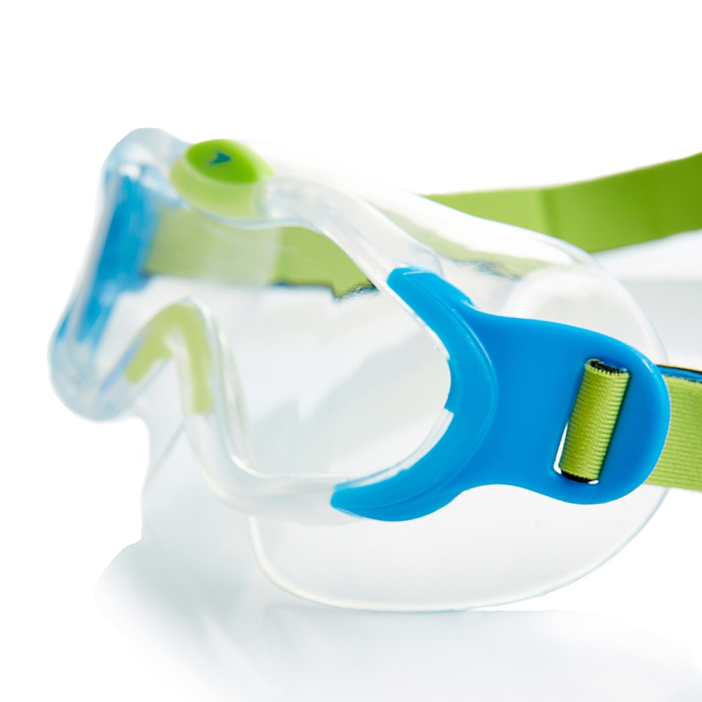 Speedo Sea Squad Mavi/Yeşil Çocuk Yüzme Gözlüğü Sp8087638029