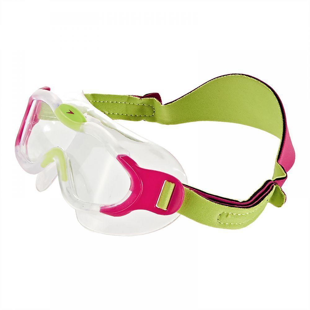 Speedo Sea Squad Pembe/Yeşil Çocuk Yüzme Gözlüğü Sp8087638028