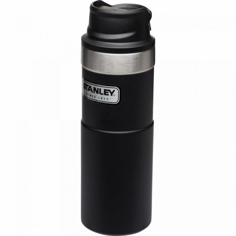 Stanley 16OZ Classıc 1H Vac Mug M.BLACK 2.0-EU AS1006439006