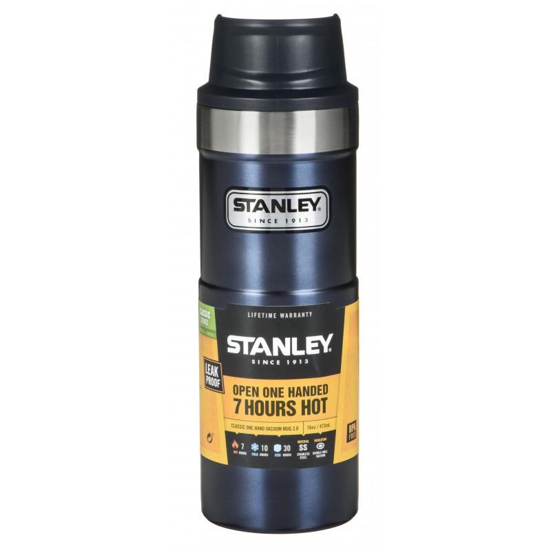 Stanley Yeni Nesil Tek El Çelik Termos Bardak 0.47 L Gece Mavisi AS1006439008