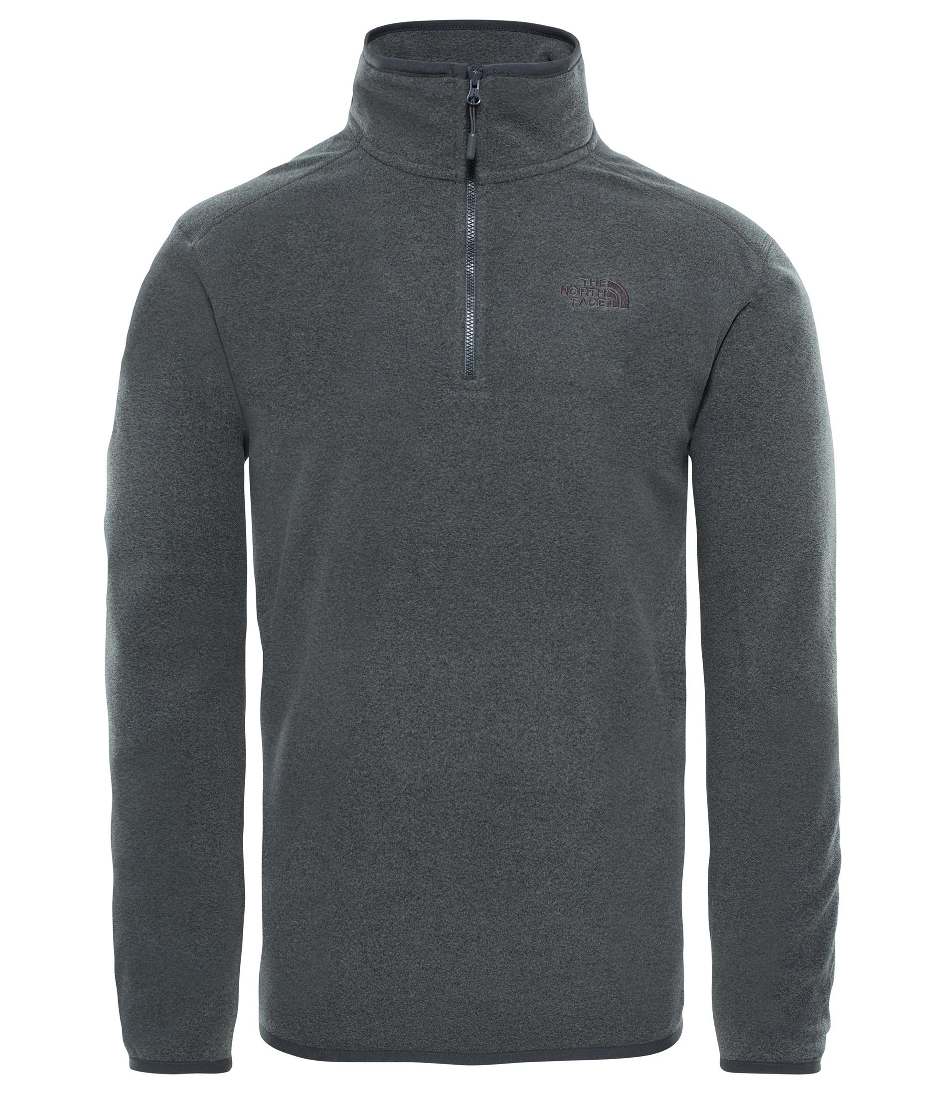 The North Face 100 Glacier 1/4 Zip Erkek Polar T92Uarjjl