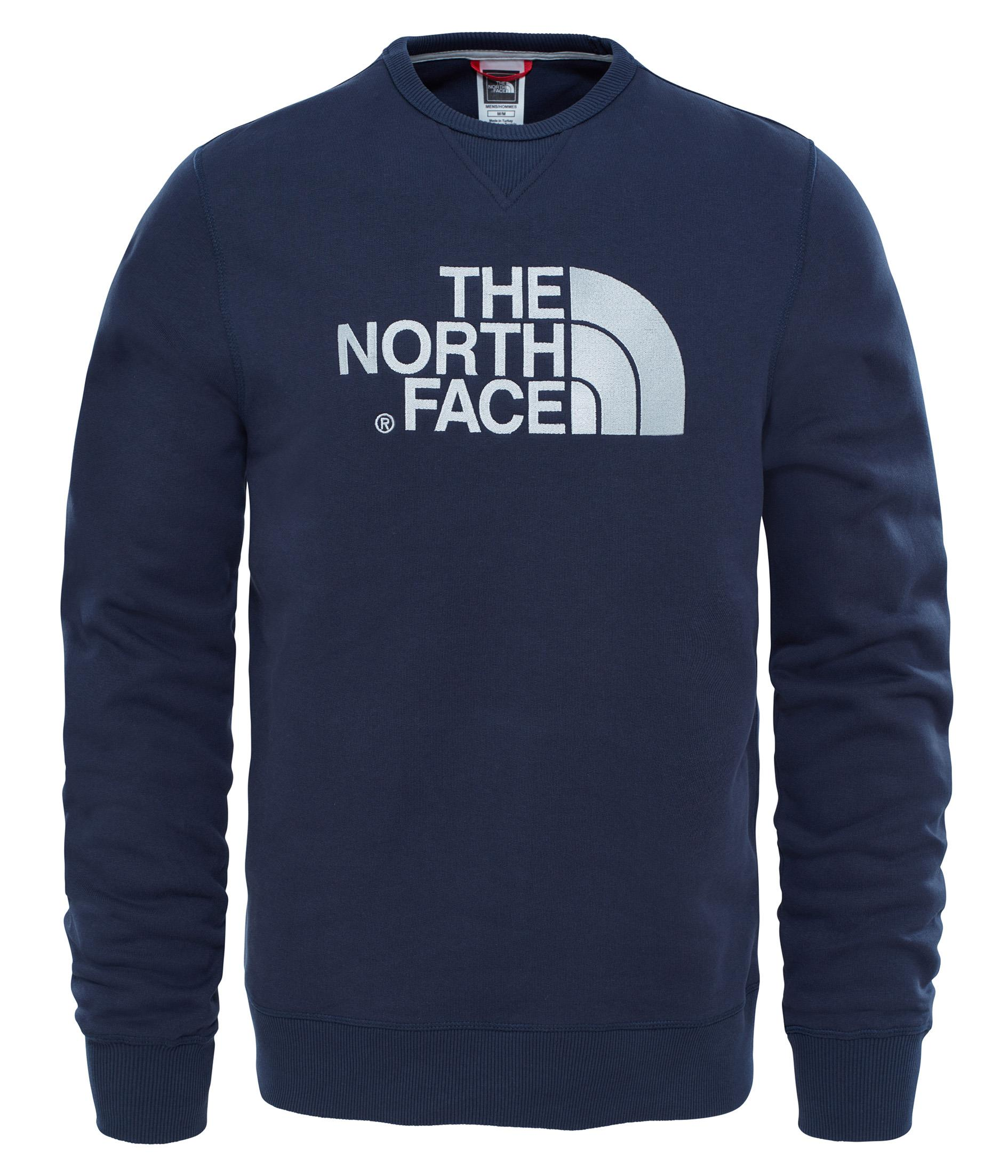 The North Face Drew Peak Crew Erkek Sweatshirt T92ZWRH2G
