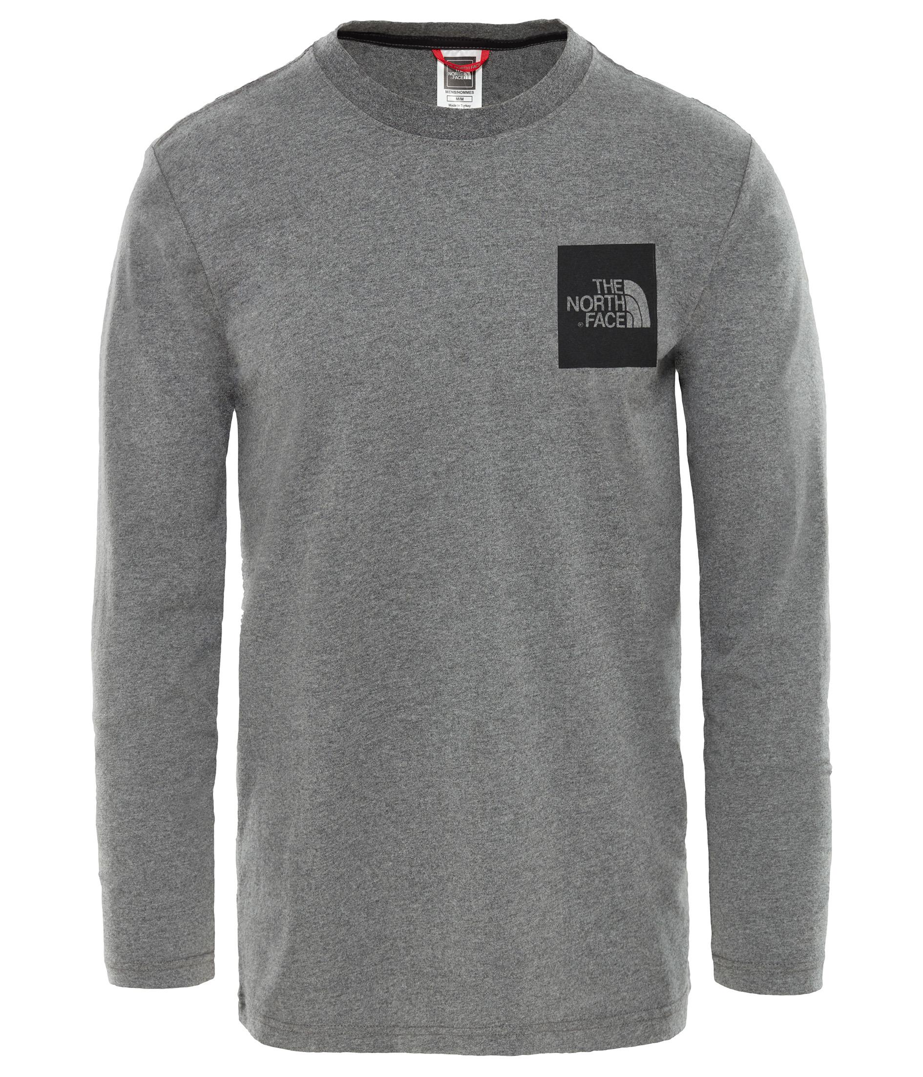 The North Face Erkek L/S Fıne Tee T-Shirt T937FTDYY