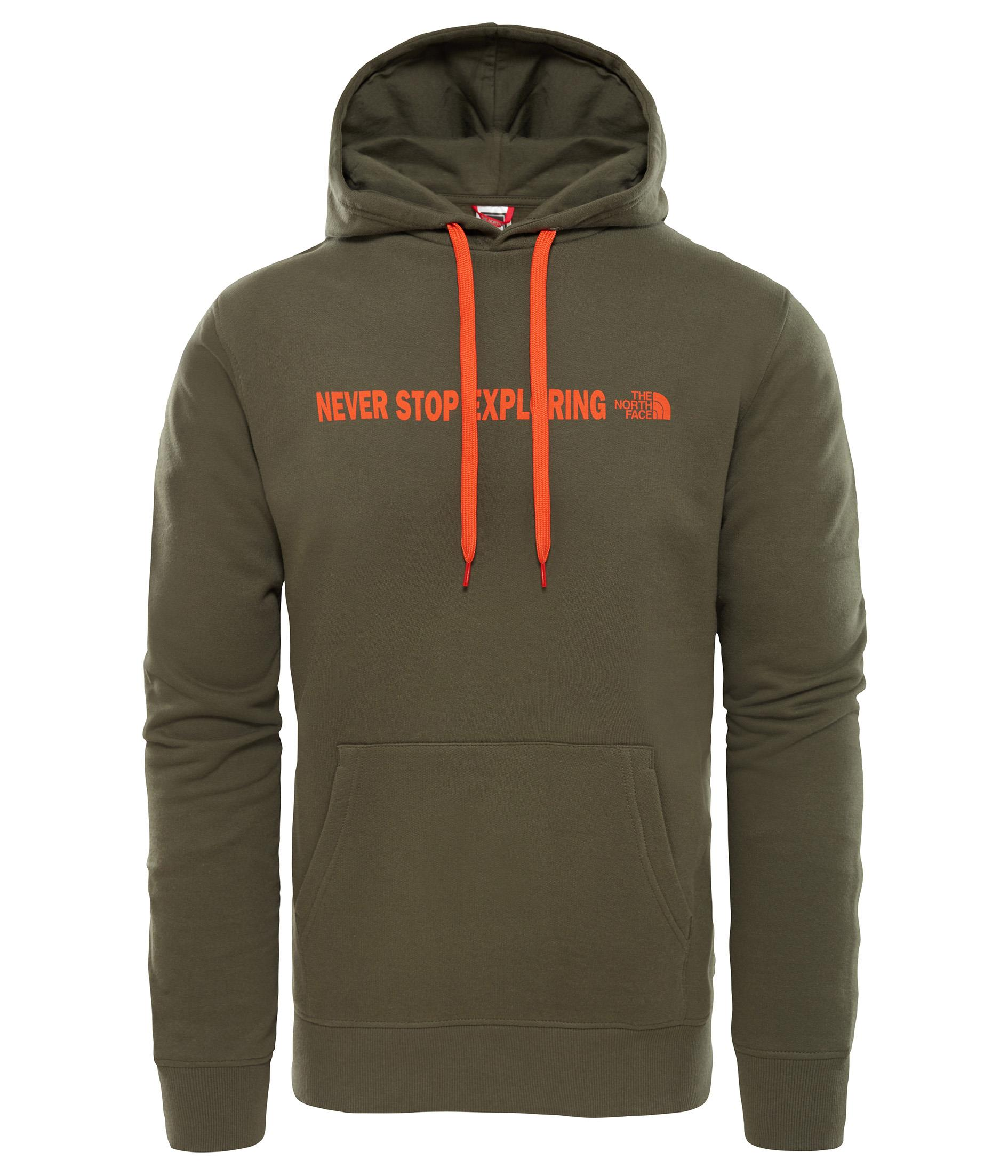 The North Face Erkek Open Gate Hoodie Sweatshirt T0C14821L