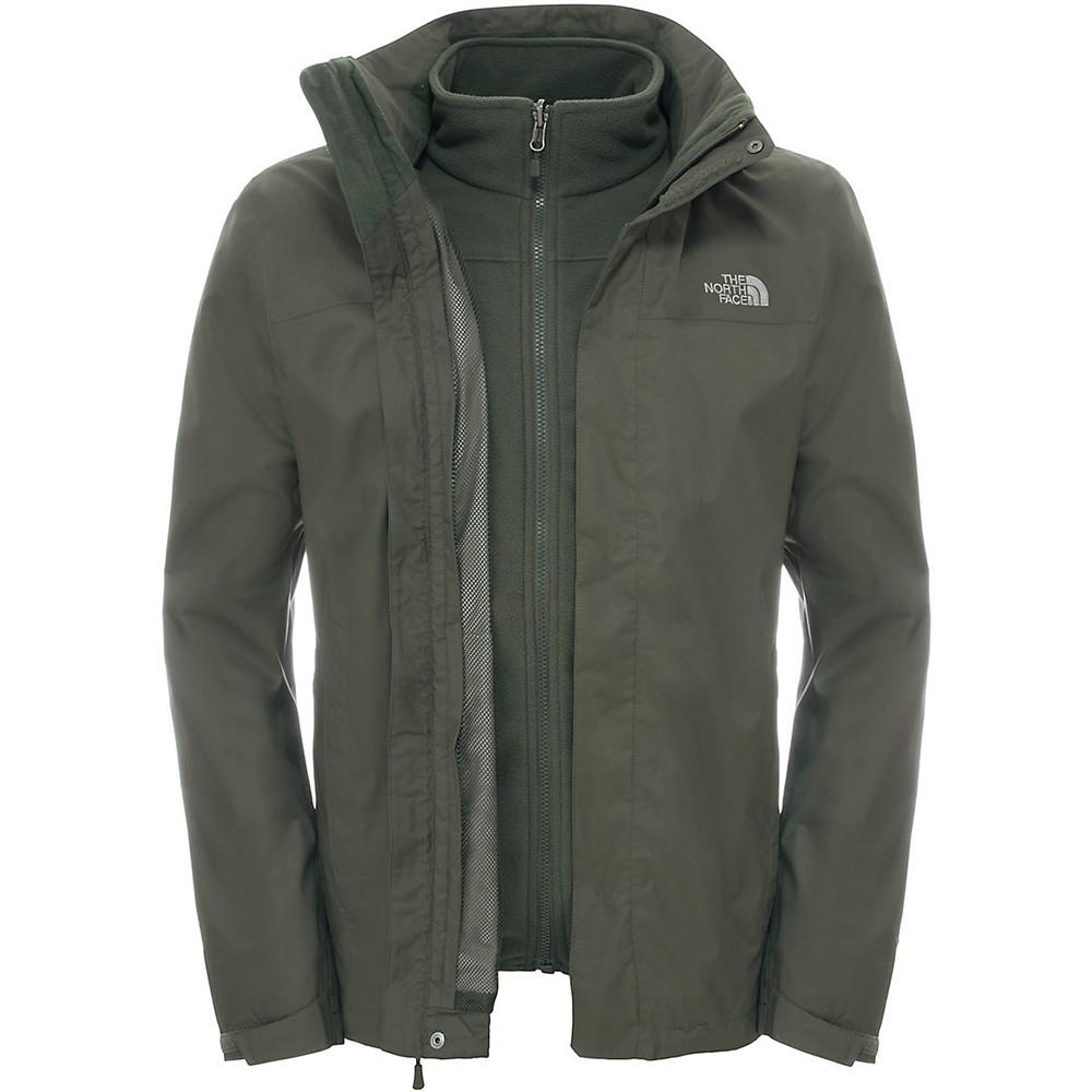The North Face Evolve İi Triclimate Erkek Ceket T0Cg55Hby