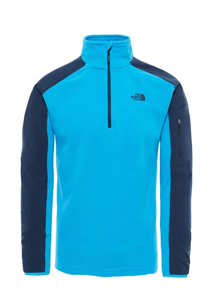 The North Face Glacier Delta 1/4 Zip Erkek Polar T92Uap8K9