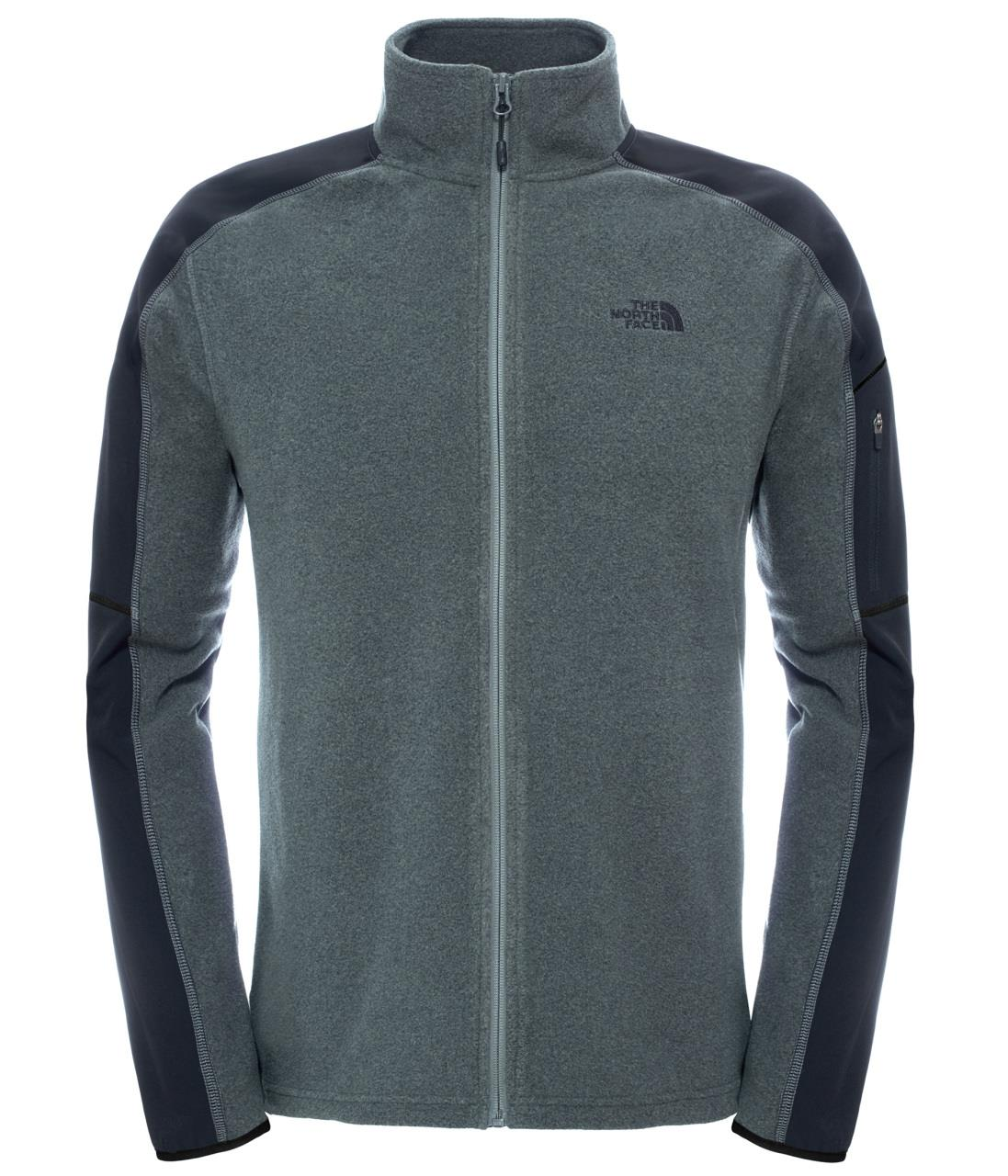 The North Face Glacier Delta Full Zip Erkek Polar T92Uayjjl