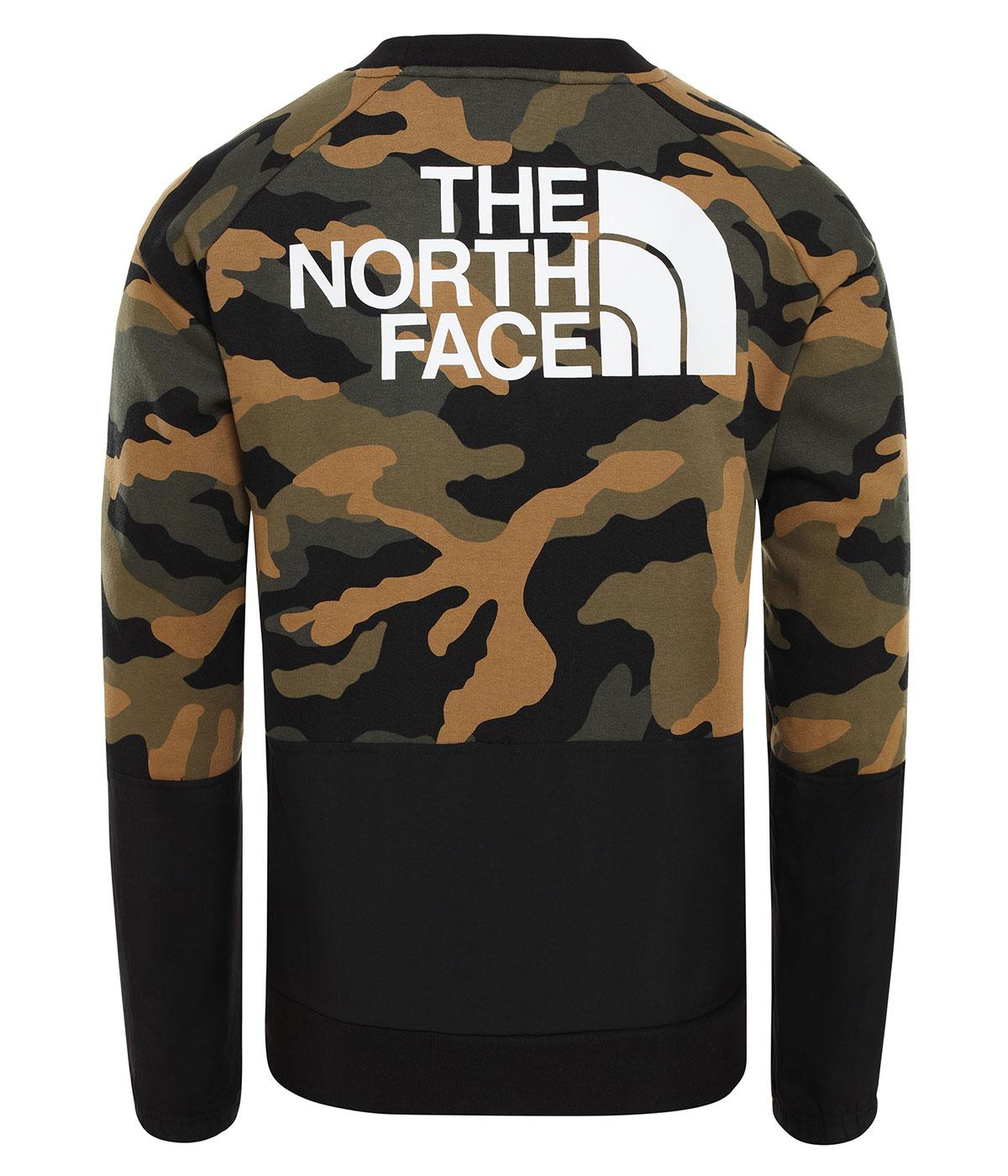 The North Face M Graphic Ls Crew Nf0A3Xblf321
