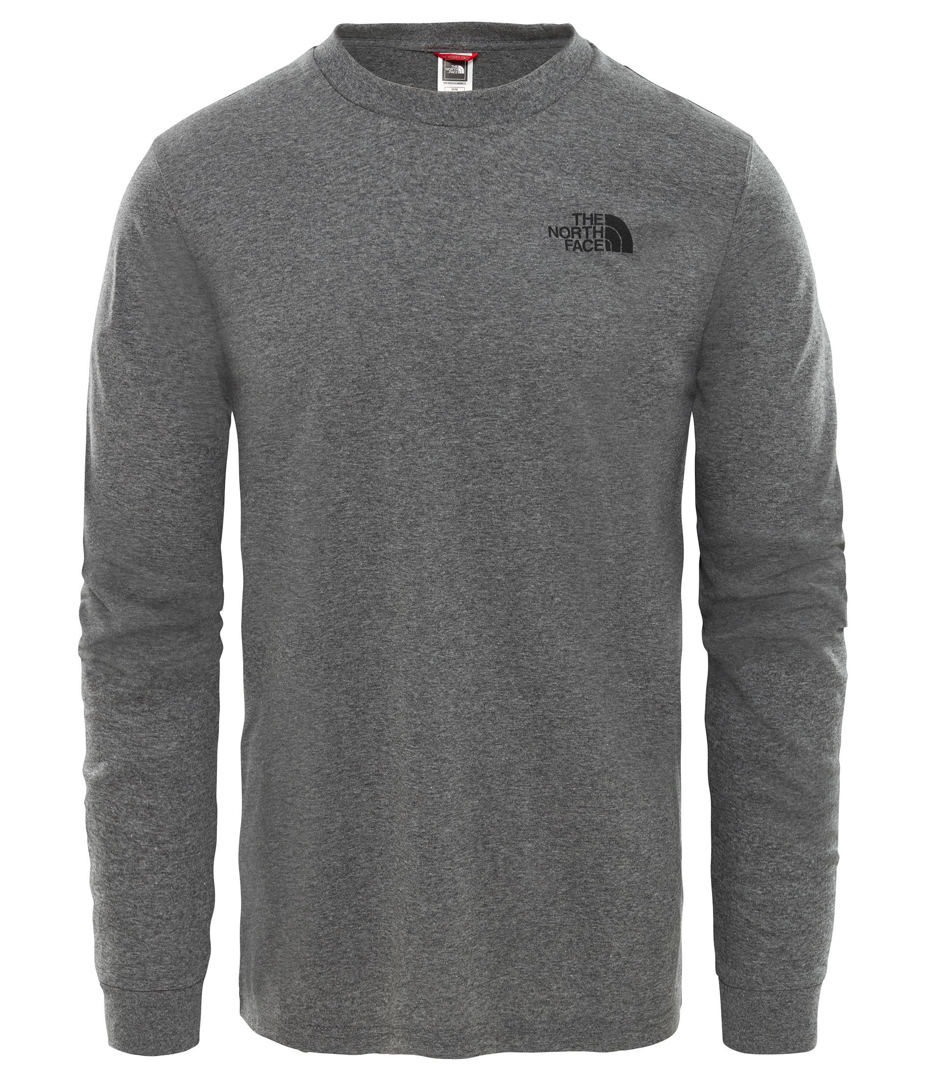 The North Face M Ls Simple Dome Tee Nf0A3L3Bdyy1