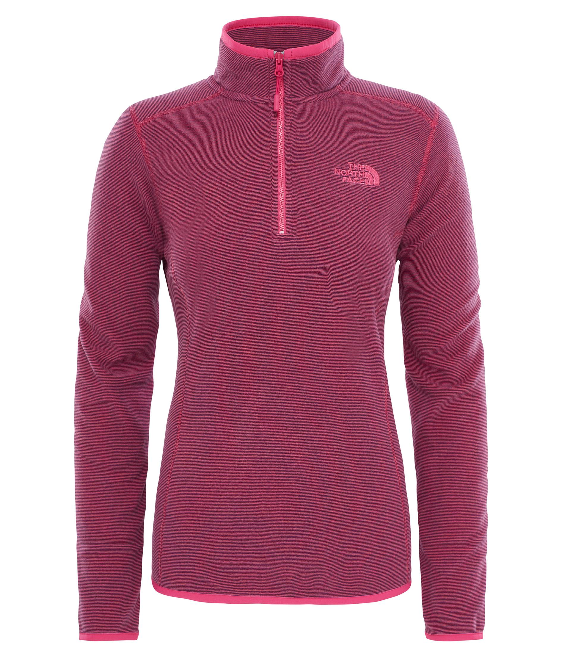 The North Face W 100 Glacier 1/4 Zip Kadın Sweat T92Uavwxz