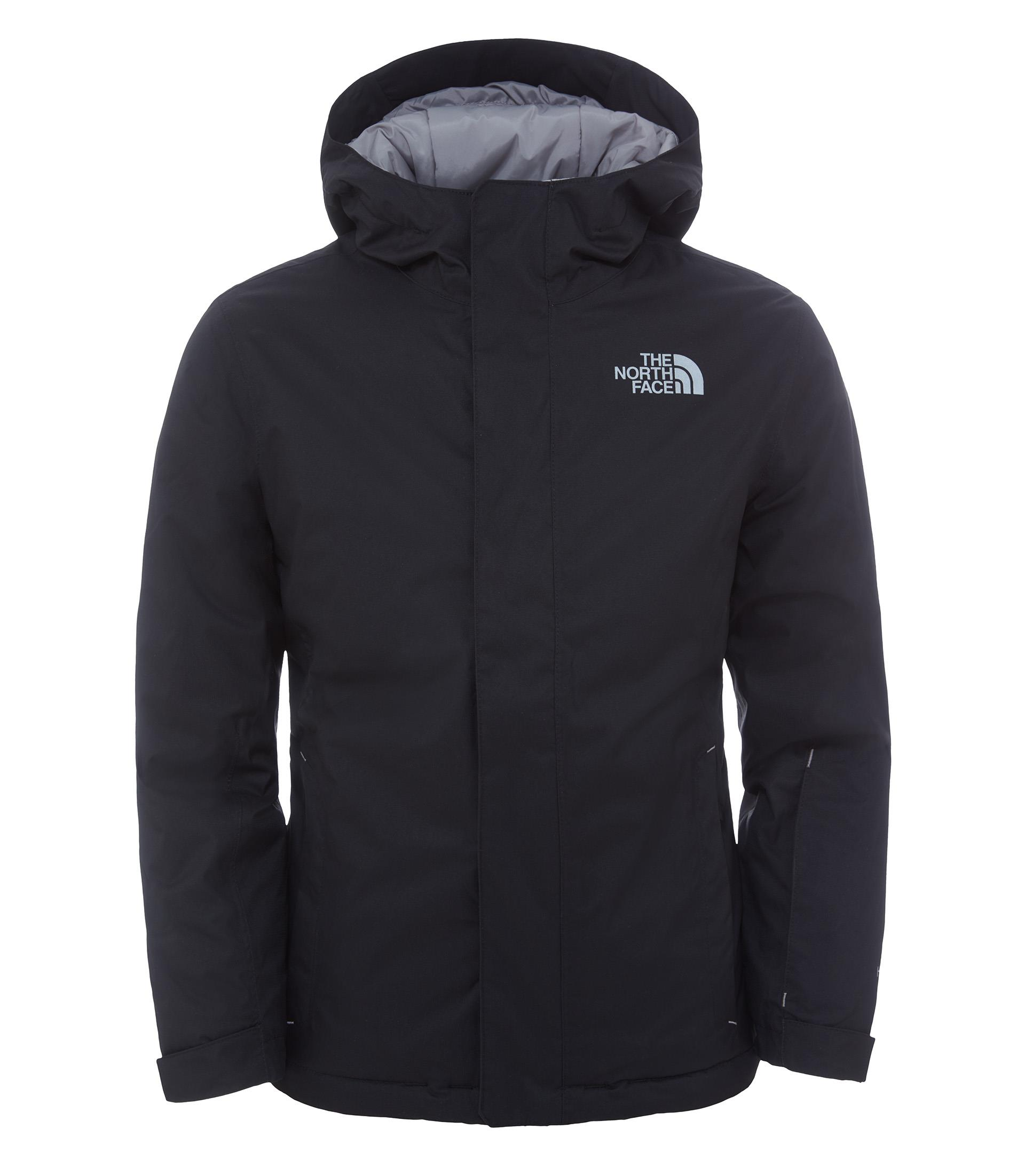 The North Face Y Snowquest Jacket Siyah Çocuk Montu T0Cb8Fjk3