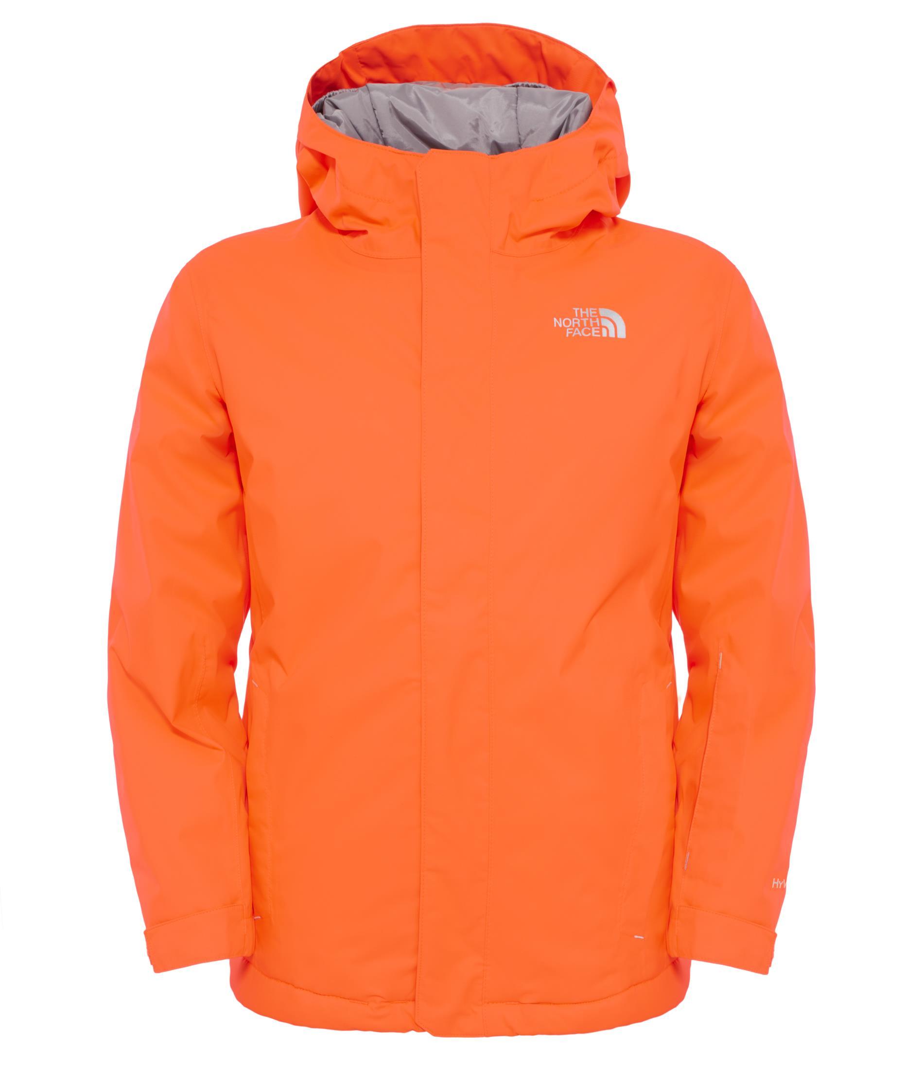 The North Face Y Snowquest Jacket Turuncu Çocuk Montu T0Cb8Fbeh